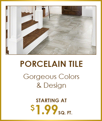 Gorgeous Colors & Design - Starting at $1.99 sq. ft.